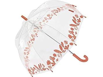 Paraguas Bisetti Infantil Automático Selva Transparente Cúpula 67 cm. 8 Varillas: Amazon.es: Juguetes y juegos