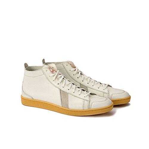 Sawa Shoes–tsague Leather white-white