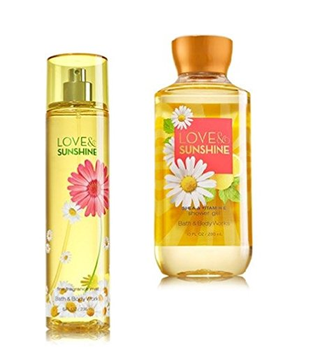Signature Collection ~ Love & Sunshine ~ Fine Fragrance Mist & Shower Gel ~ Set ()
