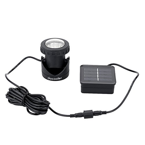 Docooler Outdoor Solar Powered Spotlight product image