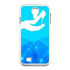 Generic for Samsung Galaxy S4 9500 Cell Phone Case White Cinderella Custom HHGKAOJFD3910
