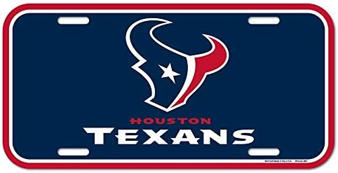Amazon.com   Wincraft NFL Houston Texans License Plate 196ba1a75
