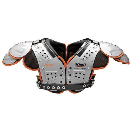 Schutt Sports Varsity XV HD QB/WR Shoulder Pad, Medium