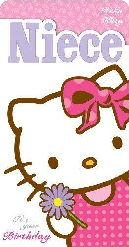 Hello Kitty sobrina es tu tarjeta de cumpleaños: Amazon.es ...