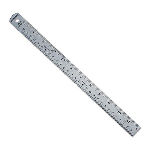 Stainless Steel Cork Backed Ruler 24''