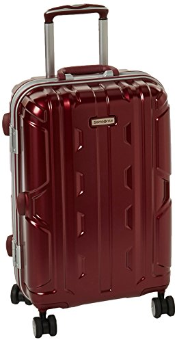 - Samsonite Cruisair DLX Hardside Spinner 21, Burgundy
