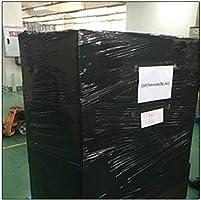 Black Confezione da 6 Set di rotoli di pellicola per pallet nera 400 mm x 250 m
