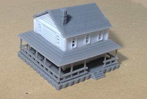 Outland Models Train Railway Layout Country 2-Story for sale  Delivered anywhere in USA