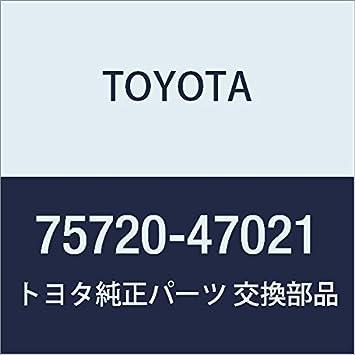 Genuine Toyota 75740-47021 Door Molding Assembly