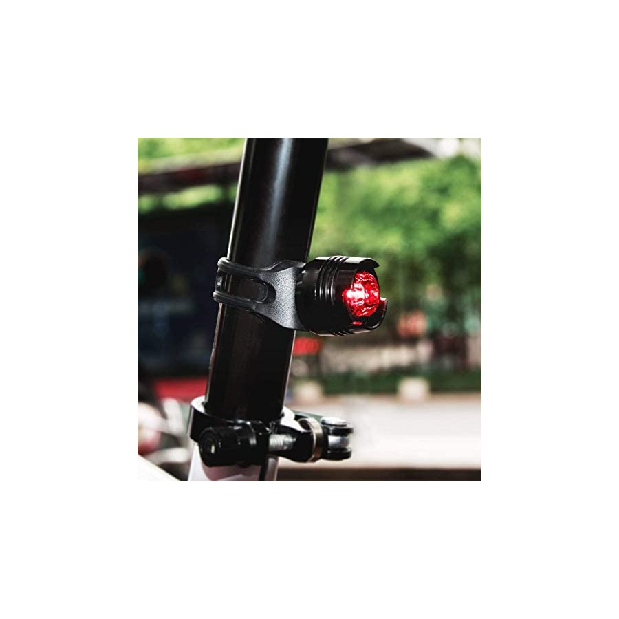 Vovomay Bike Light Vovomay LED Bicycle Light Set USB Rechargeable Bike Lights Bike Lamp