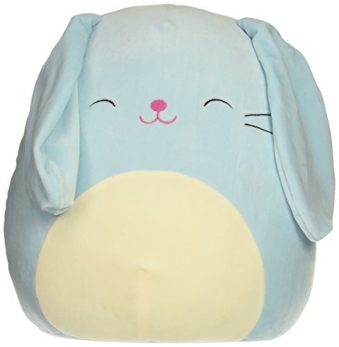 Squishmallow Buttons Plush Toy, Light Blue