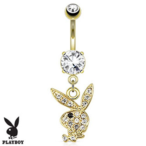 paved-gems-playboy-bunny-gold-plated-navel-ring-freedom-fashion-316l-s-steel