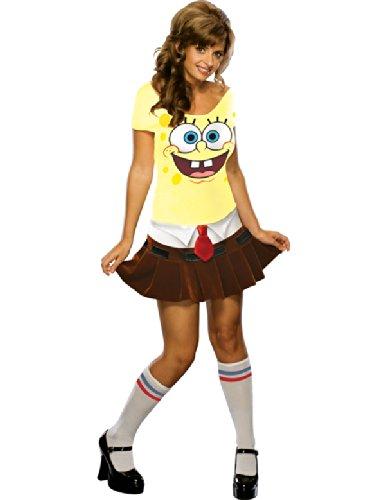 Sexy Halloween Costume Womens Spongebob Squarepants Womens U.S. XS -