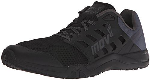 Inov-8 Men's All Train 215 Cross-Trainer Shoe, Black/Grey, 10.5 D US