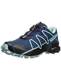 SALOMON Women's Speedcross 4 Wide W Trail Running Shoe