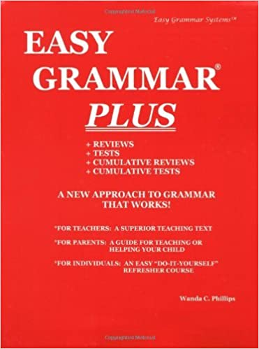 By Wanda C. Phillips - Easy Grammar Plus - Teacher Edition: Level ...