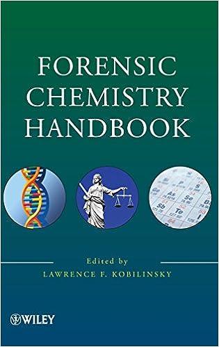 Forensic Chemistry Handbook Kobilinsky Lawrence 9780471739548 Amazon Com Books