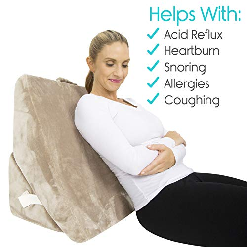 Xtra-Comfort Bed Wedge Pillow