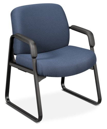 UPC 791579778178, 3500 Series Arm Guest Chair, Black Frame/Burgundy Olefin Fabric (HON3516AB62T) Category: Guest and Side Chairs
