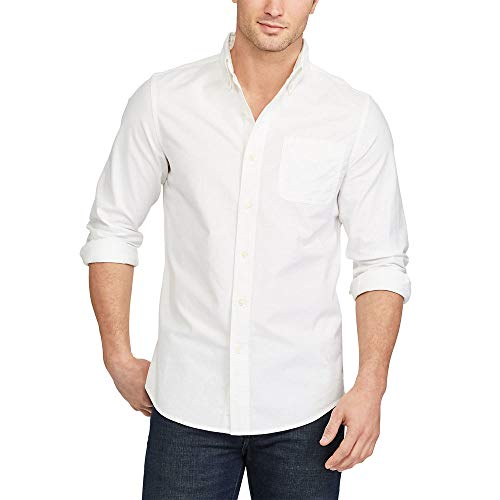 Chaps Mens Classic Fit Stretch Oxford Shirt