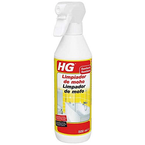 🥇 HG Limpiador de moho 500 ml – Espray destructor de moho muy eficaz