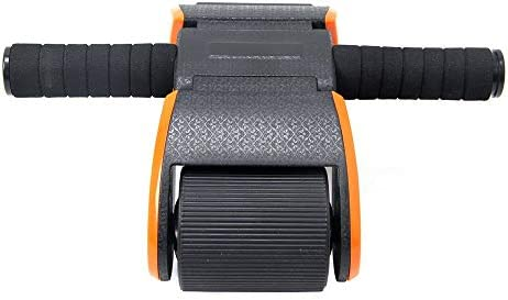 Core & Abdominal Trainers Folding Abdomen Wheel Abdominal Wheel Huge Fitness Roller Mute AB Weight Loss Fitness Equipment For Home Gym Abdominal Trainer Ideal for beginners and experienced people home 2