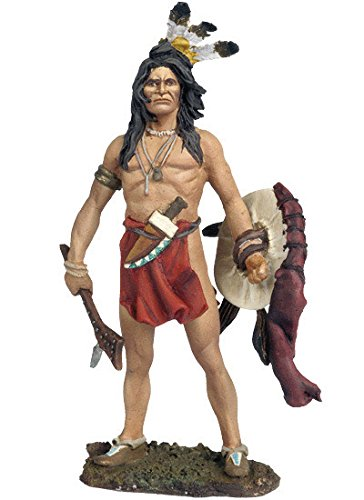 Black Hawk Collectible Toy Soldiers 1/32 Scale Crow Brave Far West Indians Custer's Last Stand Little Big Horn Metal Figure New in Box FW-0202 Britains Gunn King & Country John Jenkins Type