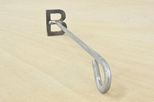 Branding Iron Steak Brand Western Cowboy Branding Iron Letter B by The Leather Guy Belt BLanks