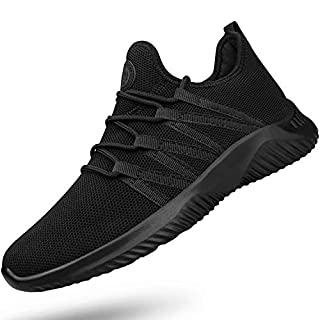 Feethit Mens Slip On Running Shoes Breathable Lightweight Comfortable Fashion Non Slip Sneakers for Men
