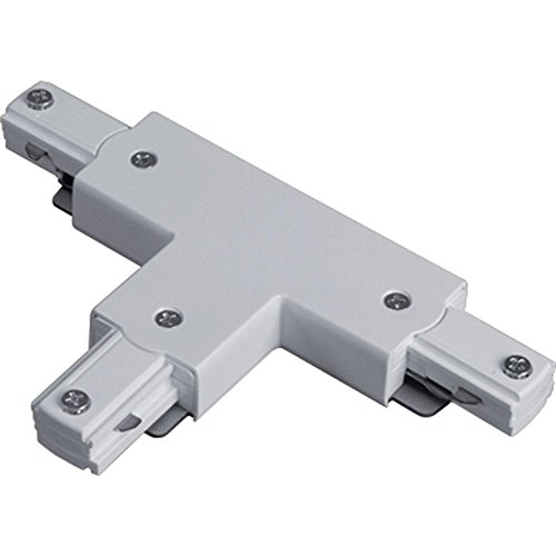 Lithonia Lighting LTTC M6 T Connector Decorative Track Lighting Connector, Matte White