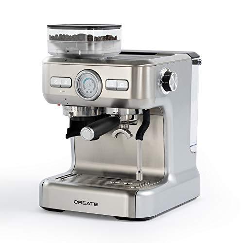 IKOHS THERA Advance – Cafetera Express Automática, Cafetera para Espresso y Cappuccino, 20 Bares, 1620W, Molinillo de…