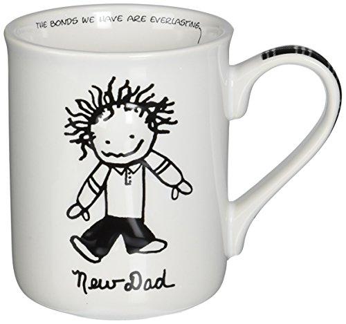 Enesco Children of the Inner Light New Dad Stoneware Gift Mug, 16 oz. (Mug Enesco)