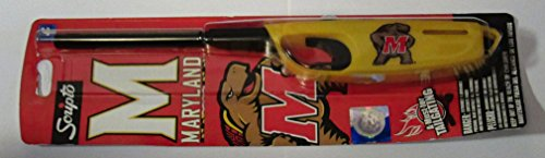 Scripto NCAA Maryland Terrapins Multi-Use Lighter, One Size, White