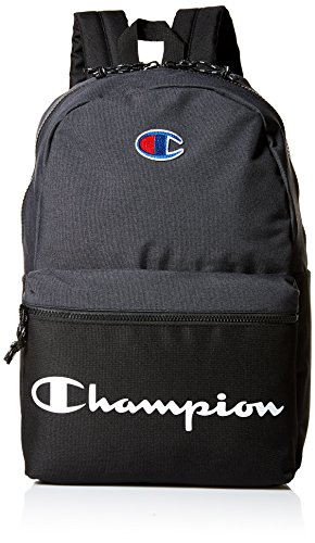 Champion Men's Manuscript Backpack, Black, One size