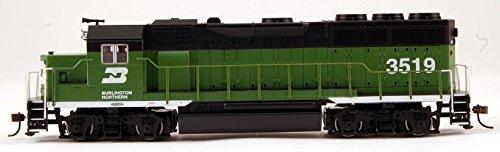 Bachmann HO Scale Train GP40 DCC Ready GP40 - Burlington Nor