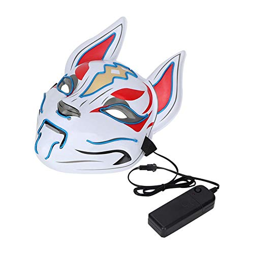 Vic Rattlehead Halloween Costumes - Glow Animals Mask, LED Light Up