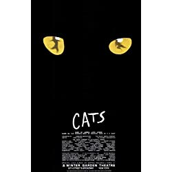 Cats Poster Broadway Theater Play 11x17 Jean Arbeiter Linda Balgord MasterPoster Print, 11x17