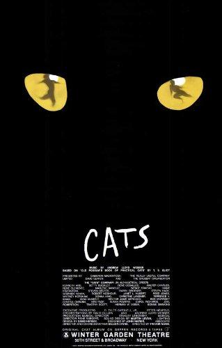 Cats Poster Broadway Theater Play 11x17 Jean Arbeiter Linda Balgord MasterPoster Print, 11x17