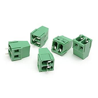 20pcs suyep 2pin screw terminal block connector 300v 10a 5 0mm kf128 rh amazon com