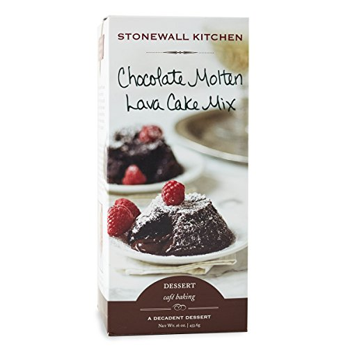 Stonewall Kitchen Chocolate Molten Lava Cake Mix, 16 Ounce