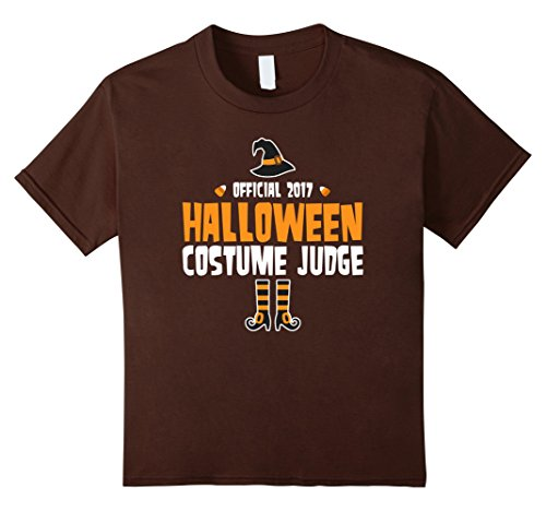 Kids The Official 2017 Halloween Costume Judge Holiday T-Shirt 12 (Last Minute Halloween Costumes 2017)