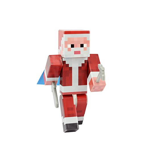 EnderToys Santa Claus Action Figure Toy, 4 Inch Custom Series -