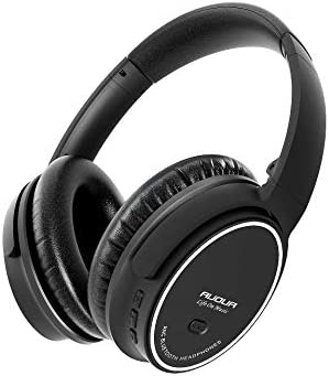 Hybrid Active Noise Cancelling Headphones, Wireless Over Ear Bluetooth Headphones, 40H Playtime, Hi-Res Audio, Deep Bass, Memory Foam Ear Cups, for Travel, Home Office