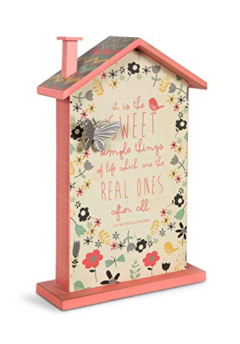 Pavilion Gift Company 74020 Sweet Simple Things Self-Standing House Plaque, 9