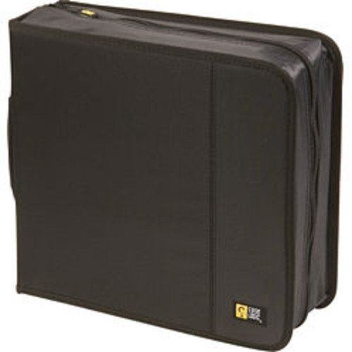 Cd Logic Case Nylon 208 (Case Logic CD/DVDW-208 224 Capacity Classic CD/DVD Wallet (Black))