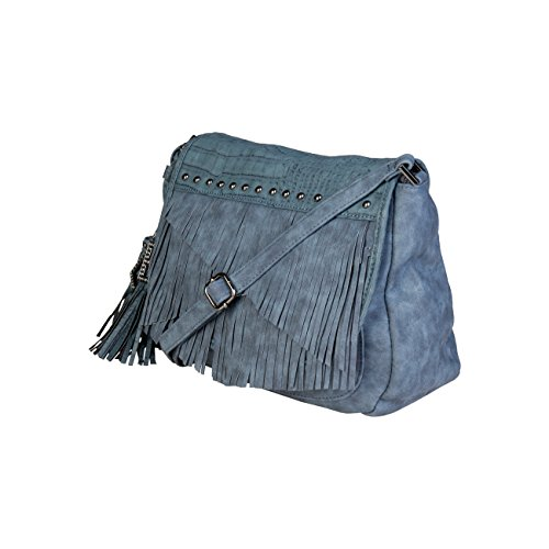 Laura Cross Women Genuine Designer Crossbody Blue Body Biagiotti Bag t6tnrdwC4q