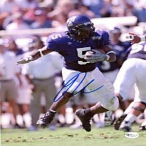 - LaDainian Tomlinson Autographed Breaking a Tackle 8x10 Photo - Autographed College Photos