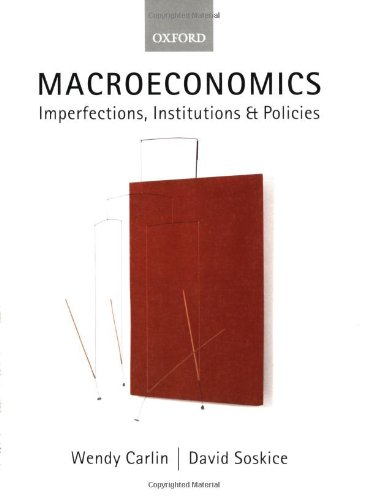 [F.R.E.E] Macroeconomics: Imperfections, Institutions and Policies [T.X.T]