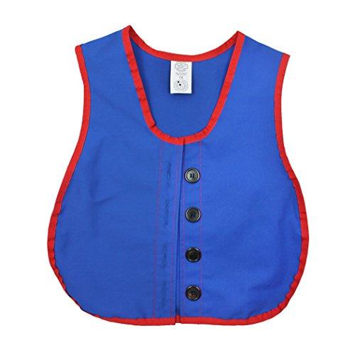 Factory Button - Children's Factory CF-361307-A1 Manual Dexterity Button Vest, 13.5