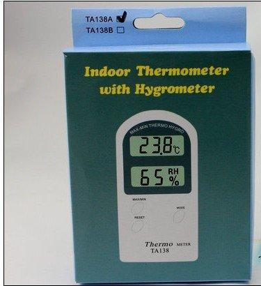 Digital LCD max-min Thermo Hygro termómetro higrómetro WiFi Sensor Sonda ta138 hogar instrumento con